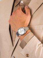 Orient FAB00005W9 męski zegarek Contemporary bransoleta
