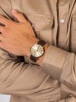 Pierre Ricaud P91022.1B21Q męski zegarek Pasek pasek