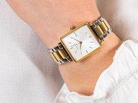 Zegarek klasyczny Rosefield Boxy QWSSG-Q043 Boxy - duże 5