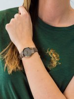 Rubicon RNAD89GIVX03B1 damski zegarek Pasek pasek