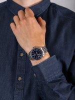 Zegarek klasyczny Seiko Presage SPB091J1 Presage Blue Enamel Automatic - duże 5