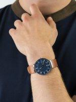 Skagen SKW6457 męski zegarek Grenen pasek