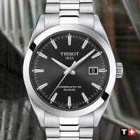 Tissot T127.407.11.051.00 GENTLEMAN POWERMATIC 80 SILICIUM zegarek klasyczny Gentleman