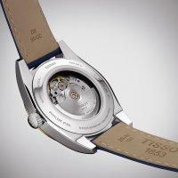 Tissot T927.407.46.041.01 zegarek srebrny klasyczny Gentleman pasek