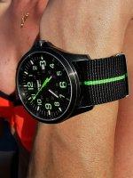 zegarek Traser TS-107426 kwarcowy męski P67 Officer Pro P67 Officer Pro GunMetal Black/Lime