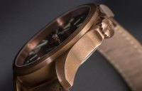zegarek Traser TS-108073 P67 Officer Pro Automatic Bronze Brown P67 Officer Pro szafirowe