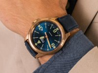 Zegarek klasyczny Traser P67 Officer Pro TS-108074 P67 Officer Pro Automatic Bronze Blue - duże 6