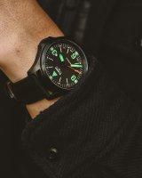 Traser TS-108075 P67 Officer Pro P67 Officer Pro Automatic Black zegarek męski klasyczny szafirowe