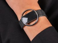 Garett 5903246287219 Smartwatch Garett Women Nicole RT czarny zegarek sportowy Damskie