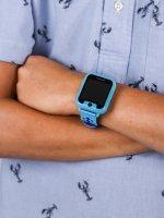 zegarek Garett 5903246281972 Smartwatch Garett Kids Nice niebieski dla dzieci z gps Dla dzieci