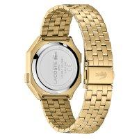 Lacoste 2020138 zegarek złoty sportowy Damskie bransoleta