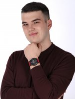zegarek Lorus RM393GX9 męski z chronograf Sportowe