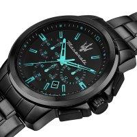 zegarek Maserati R8873644004 czarny Royale