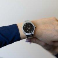 zegarek Meller 11PN-3.2SILVER Nairobi Black Silver Nairobi mineralne z powłoką szafirową
