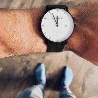 1BW-1BLACK - zegarek męski - duże 5