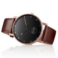 Meller 2R-1CHOCO zegarek damski Maori różowe złoto
