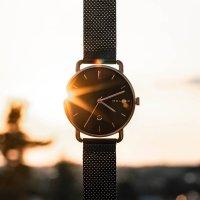 zegarek Meller W3R-2BLACK różowe złoto Denka