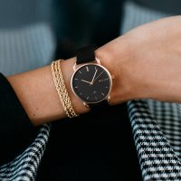 zegarek Meller W3R-2BLACK Denka Roos Black Denka mineralne z powłoką szafirową