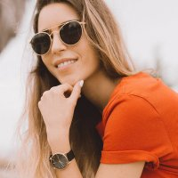 zegarek Meller W3R-2BLACK kwarcowy damski Denka Denka Roos Black