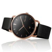 Meller W3R-2BLACK zegarek damski Denka różowe złoto
