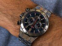 Zegarek męski  Chrono Bike F20448-3 - duże 6