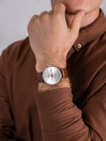 Doxa 171.10.021R.02 męski zegarek D-Light pasek