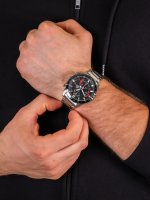 zegarek Edifice EFR-571DB-1A1VUEF męski z chronograf Edifice