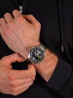 Edifice ECB-10DB-1AEF męski zegarek EDIFICE Premium bransoleta