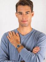 Zegarek męski  Elegance EU6000-57L - duże 4