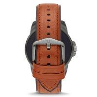 zegarek Fossil Smartwatch FTW4055 GEN 5E SMARTWATCH - BROWN LEATHER męski z gps Fossil Q