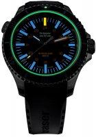 Traser TS-109371 zegarek srebrny sportowy P67 SuperSub pasek