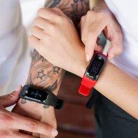 Garett 5906874848760 Smartband Opaska Sportowa Garett FIT 20 GPS Czerwony zegarek sportowy Smartbandy - Opaski sportowe