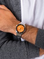 Seiko SRPD59K1 męski zegarek Sports Automat bransoleta