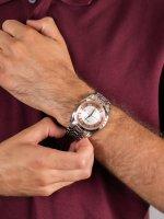 Adriatica A8202.R113A męski zegarek Automatic bransoleta