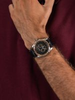 Adriatica A1094.R216QF męski zegarek Pasek pasek