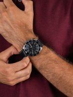 zegarek Adriatica A1147.5224CH męski z chronograf Pasek