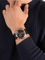 zegarek Adriatica A8282.R214CH Moonphase Chronograph męski z chronograf Pasek