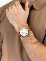 Aerowatch 21976-AA07 męski zegarek Heritage Slim pasek