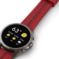 Armani Exchange AXT2006 zegarek męski Fashion szary