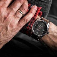 Atlantic 70351.41.41R zegarek srebrny klasyczny Seaflight pasek