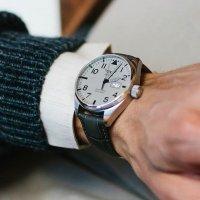 Aviator V.1.22.0.150.4 zegarek srebrny klasyczny Airacobra pasek