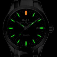 zegarek Ball NM2128C-S1C-BE srebrny Engineer M
