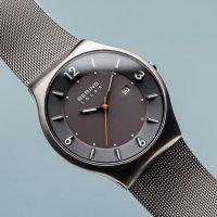 Bering 14440-077 Solar zegarek męski klasyczny szafirowe
