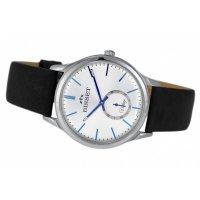 Bisset BSCE58SISD05BX zegarek srebrny klasyczny Klasyczne pasek