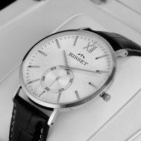 zegarek Bisset BSCE74SWSX03BX kwarcowy męski Klasyczne