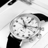 Bisset BSCE84SASB05AX zegarek srebrny klasyczny Klasyczne pasek