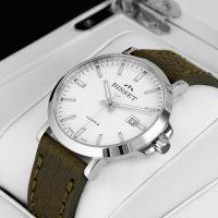 Bisset BSCE96SISX05BX męski zegarek Klasyczne pasek