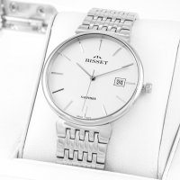 Bisset BSDF03SISX03BX zegarek męski Klasyczne