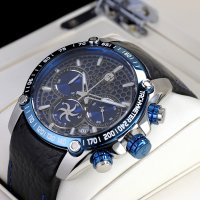 Bisset BSCE98SIDX10AX zegarek męski Sportowe
