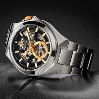 Bulova 98A224 zegarek srebrny elegancki Automatic bransoleta